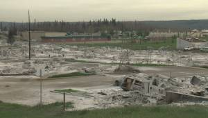 Raw video: First look at the devastated Abasand neighbourhood of Fort McMurray