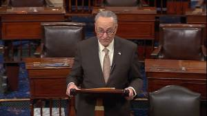 Chuck Schumer reacts to Paul Ryan retiring as House Speaker at end of year