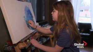 How painting helped a New Brunswick family deal with a mental health crisis