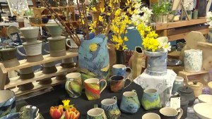 Kingston's Potters' Guild held is annual pottery sale over the weekend. The guild is also celebrating its 51st year, with quite the history