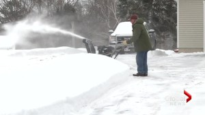 Cleanup underway in New Brunswick after winter storm