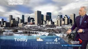 Edmonton early morning weather forecast: Wednesday, March 21, 2018