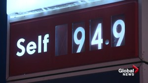 Gas prices rise while oil continues to slide