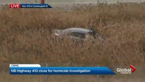 Man dies after being found with gunshot wounds in vehicle on Hwy. 410 in Mississauga
