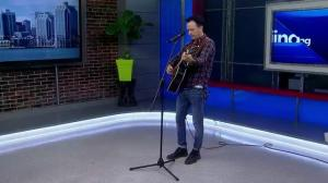 Moving East – Jimmy Rankin stops by for a performance on Global