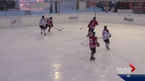 Puck drops on World's Longest Hockey Game