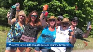 The 30th annual Havelock Country Jamboree is underway