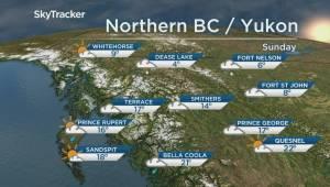 B.C. evening weather forecast: Aug 17