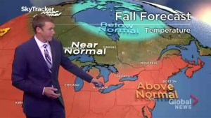 What Canadians can expect in the fall forecast from coast to coast