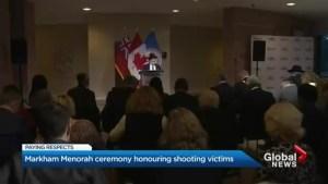 Markham Jewish community remembers synagogue shooting victims