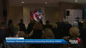 Markham Jewish community remembers synagogue shooting victims