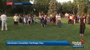 Edmontonians celebrate Ukrainian-Canadian Heritage Day