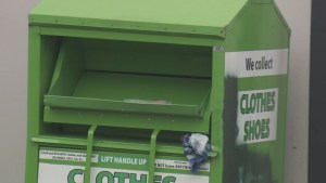 Debate heats up over donation bin ban