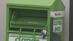 Debate heats up over donation bin ban
