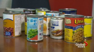 New study finds BPA in high number of food cans solids in Canada.