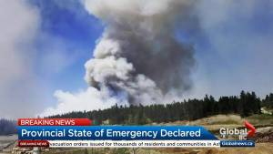 Thousands of people evacuated due to wildfires: Cariboo official
