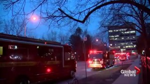 2-alarm fire at North York high-rise sends several people to hospital