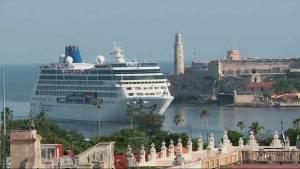 1st U.S. cruise ship in nearly 40 years docks in Cuba
