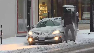Kingstonians get their first taste of the snow season
