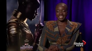 Why Danai Gurira shaved her head for Black Panther