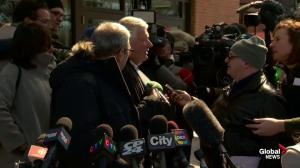 Angry Brian Greenspan decries what he calls 'misinformation' regarding Marco Muzzo verdict