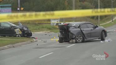 Driver in custody after fatal 2-vehicle crash in Oshawa
