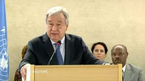 United Nations chief warns against threat of hate speech, calls it threat to 'pillars of humanity'