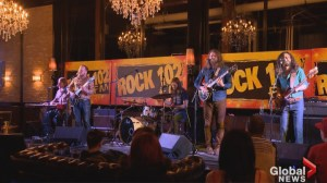 The Sheepdogs make Saskatoon stop on world tour
