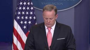 Spicer stands by Trump tweets taking 'credit' for Qatar situation