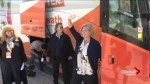 NDP Leader Andrea Horwath aims to pick up lost Liberal votes in final week of campaign