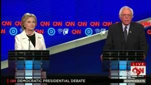 Bernie Sanders, Hillary Clinton spar during Brooklyn debate