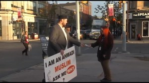 Ahmadi Muslims spread love and education