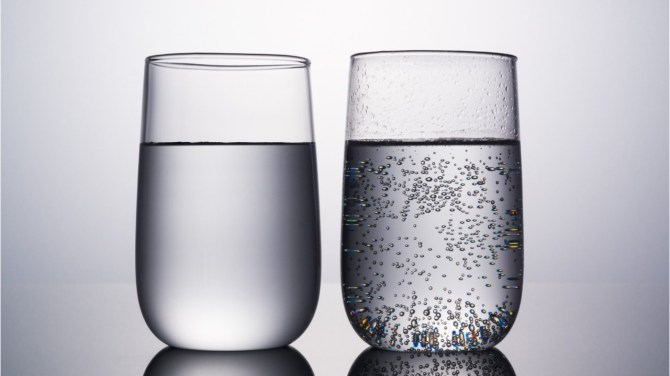 Is carbonated water as good for you as regular water?