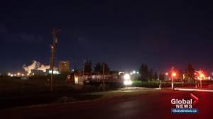 Train whistle disturbs northeast Edmonton through the night