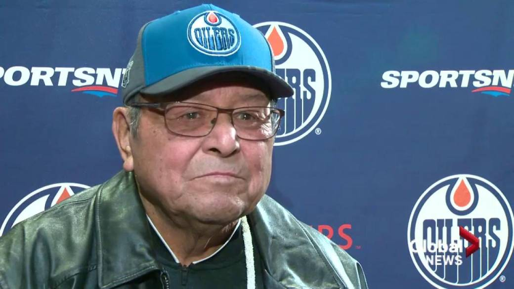 Click to play video 'Fred Sasakamoose on being appointed to the Order of Canada'