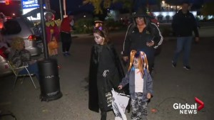 Kelowna kids attend 'Trunk or Treat' event