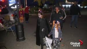 Kelowna kids attend 'Trunk or Treat' event