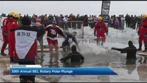 2019 Polar Plunge at Rotary Park
