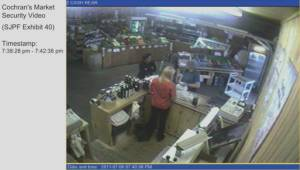 Security camera footage allegedly shows Dennis Oland moments after murder took place