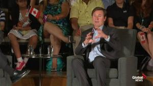 Stephen Harper asks Gretzky if NHL ready for more teams in Canada