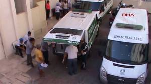 Bodies of drowned Syrian boys washed ashore transported to Turkish hospital