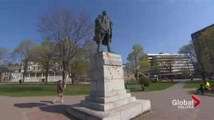 Statue of Edward Cornwallis vandalized