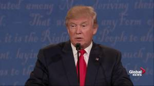 Presidential debate: I'm going to get the bad hombres out: Trump