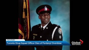 Toronto drug squad officer dies of fentanyl overdose