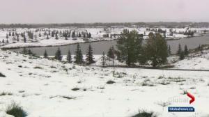 Edmonton sees 2nd blast of winter in September