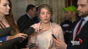 Mélanie Joly calls on 'web giants' to counter hate speech online