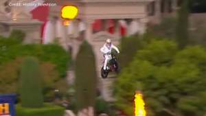 Travis Pastrana hopes to do what Evel Knievel couldn't – jump the Caesars Palace fountain