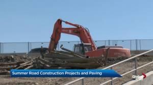 Calgary construction season underway