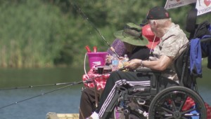 New urban dock allows seniors to fish again