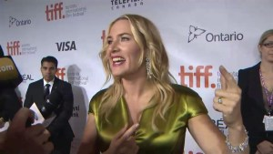 """TIFF Red Carpet: Actor Kate Winslet from the film """" A Little Chaos"""""""